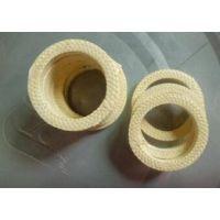 黄芳纶盘根|骏驰出品硅胶芯芳纶纤维盘根