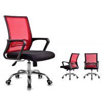广时杰电脑椅家用办公椅子升降转椅人体工学可躺职员老板网布椅