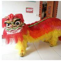 厂家直销舞龙舞狮北狮南狮 戏具道具 民间表演舞狮批发