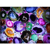 供应江西佳华美玛瑙宝石透光板彩色背景墙