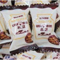 散装糖果批发 UHA悠哈特浓巧克力牛奶糖 喜糖 休闲食品 零食