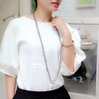 珍珠毛衣链长款百搭日韩国项链女多层配饰装饰链时尚首饰挂件挂饰