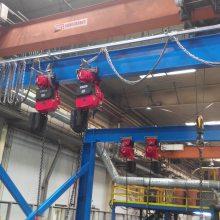 起重机翻转设备 空中翻转设备 自动翻转 吊起翻转