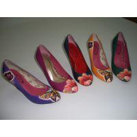 PU皮革鞋面数码打印机 鞋面UV平板打印机 鞋子万能打印机厂家