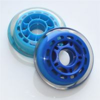 广州厂家 高弹耐磨PU滑板轮 聚氨酯活力板轮 溜冰鞋轮子