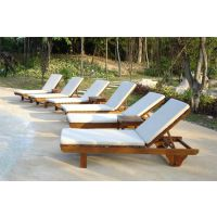 沈阳木制沙滩椅/惠州实木躺椅/户外休闲沙滩椅