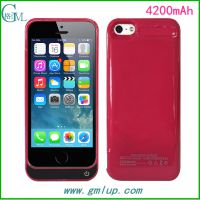 厂家供应iphone5/5C/5S通用背夹电池 苹果5超薄移动电源