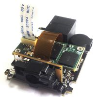 4100固定式二维激光条码阅读器扫描器物流超市条码采集读取设备
