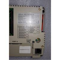 广州售日本欧姆龙NS5-SQ11B-V2二手触摸屏现货,维修触摸屏进不了界面故障