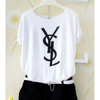 夏天衣服女装短袖T恤韩版闺蜜姐妹装夏季大码宽松蝙蝠衫上衣