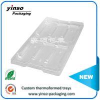 英硕厂家供应吸塑包装制品 透明PVC吸塑托盘 量大从优