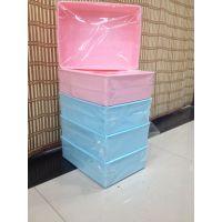 供应韩版硬盖塑料文胸收纳盒 防蛀内衣抽屉加盖收纳箱 防水防潮