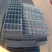 旺来重型钢格栅板 钢格栅板规格 不锈钢下水道盖板