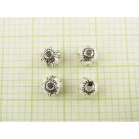 DIY泰银吊坠配件加工生产批发 珠宝首饰来图来样加工定制工厂