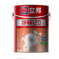 立邦漆净味120防潮易擦洗内墙墙面漆白色乳胶面漆油漆涂料