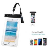 定制环保PVC透明防水袋.水上运动游泳漂流防水手机袋