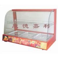 两层三盘大型保暖柜|板栗展示柜|不锈钢发热管,质量可靠