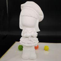 贵阳恒裕玩具公司批发小号石膏彩绘白坯4.5元一个 3-14岁智力开发玩具