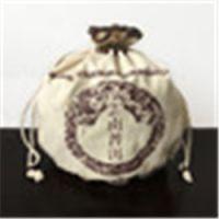茂澐纺织 特价 云南普洱茶叶麻布袋 名族风格束口精致装