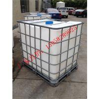 供应上海二手吨桶1吨pe方箱多少