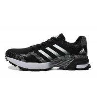 阿迪达斯男鞋 adidas 2105 新品马拉松飞线针织男鞋运动跑步鞋
