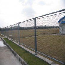 顺旺PVC圈山菱形网 操场围墙网 防攀爬矿用勾花网