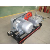 用于油田油井,大工程隧道管道高压输出:3DY6000/40超大流量电动试压泵