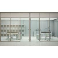 佛山办公隔断铝材供应 83款式—108款式双玻单玻型材 厂家批发