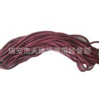 供应各种颜色可热切八股绳.八股编织绳.丙纶绳