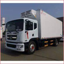 南丹县哪里有卖冷藏车的_武汉8.6米厢式水果冷藏车厂家价格