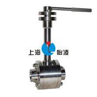 低温球阀|三片式低温焊接球阀-DQ61F-25P 上海怡凌阀门厂质量三包