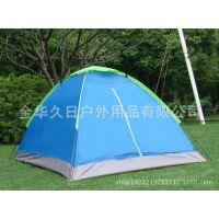 1件起批 久日户外野营帐篷 3-4人双层防雨自动帐篷 速搭四人双层