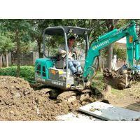 广东工业开渠用小挖机15型13345102662