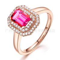 加工生产珠宝首饰镶宝石首饰戒指吊坠耳钉耳环