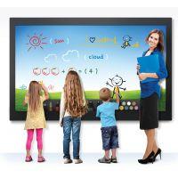汉中高档教学触控机/电子白板一体机/学校/会议室用互动教学触摸一体机