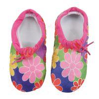 90号时尚花朵软底鞋15-16cm 室内家居鞋地板鞋 防滑 新款升级包装