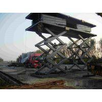 葫芦岛市大吨位剪叉式货梯 启运四平市液压升降台 漯河市直销仓库简易货梯