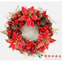 圣诞节装饰品圣诞花环、藤条