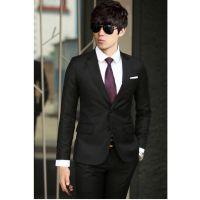 婚礼礼服套装男工作服正装商务休闲男西服韩版时尚职业装订做广州厂家
