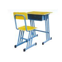 上海优美学生课桌椅厂家,上海钢制学生课桌椅YM-001