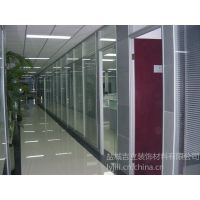 供应供应威海烟台铝合金百叶隔断型材批发高隔间型材批发