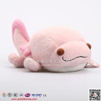 粉红色毛绒海豚 电动机芯毛绒动物公仔开发设计定做 icti认证工厂
