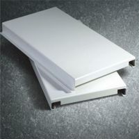 室内白色勾搭板吊顶|冲孔勾搭铝板天花|勾搭型天花铝板