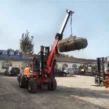 上海南汇厂家直销码头专用轮式3吨越野叉车的价格