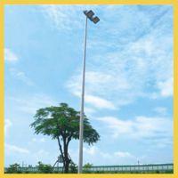 长沙小区篮球场灯杆施工安装报价,浏阳公园体育场灯杆高度设计