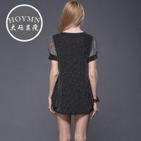 外贸服装批发 2015夏季新款欧美大牌真丝连衣裙 厂家直销一件代发