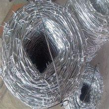 旺来刺绳铁丝网 铁丝刺绳 刀片刺网防护网