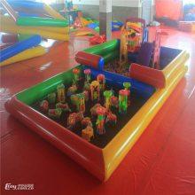 江苏决明子儿童沙滩池多少钱一套 心悦多功能海洋球池 户外广场游乐设备