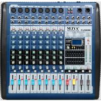 雅声大功率调音台八路专业功放带效果一体机