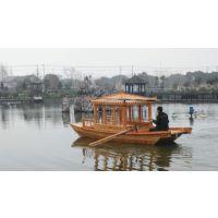 兴化市殿宝木船制造客船 景区木船批发价格